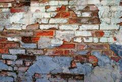 stara ceglana ściana Obrazy Royalty Free