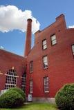 Stara ceglana fabryka Zdjęcie Royalty Free