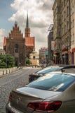 Stara ceglana katedra Zdjęcia Stock