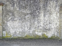Stara cement ściana obrazy stock