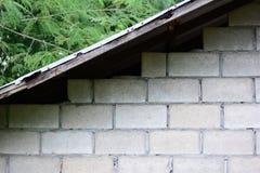 stara cement ściana stary gospodarstwo rolne dom Zdjęcie Royalty Free
