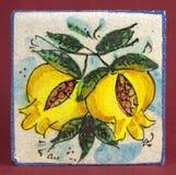 Stara ceramiczna płytka Zdjęcia Royalty Free