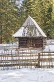 stara chata drewniana Zdjęcie Stock