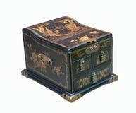 Stara chińska szkatuła Fotografia Royalty Free