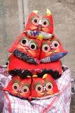 stara chińska sukienna lala Obrazy Royalty Free