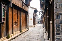 Stara Chińska ulica Zdjęcie Royalty Free