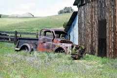 stara ciężarówka Fotografia Stock