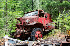 stara ciężarówka przeciwpożarowa Fotografia Stock