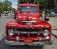 stara ciężarówka przeciwpożarowa obrazy royalty free