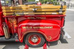 stara ciężarówka przeciwpożarowa zdjęcia royalty free