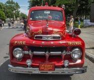 stara ciężarówka przeciwpożarowa obrazy stock