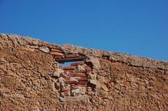 Stara ściana 40's Obrazy Stock
