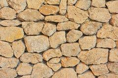Stara ściana wielcy kamienie. Zdjęcie Stock