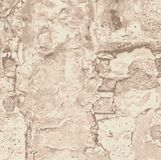 Stara ścienna tekstura, wektorowy projekt Zdjęcia Stock