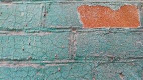 Stara colorfull ściana Zdjęcie Stock