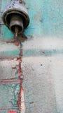 Stara colorfull ściana Zdjęcia Stock
