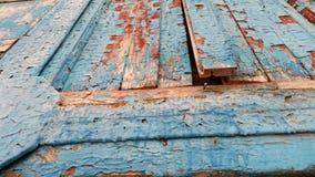 Stara colorfull drewna ściana Zdjęcia Royalty Free