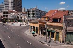 Stara część Rio De Janeiro zdjęcie stock