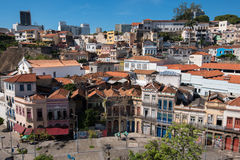 Stara część Rio De Janeiro miasto fotografia stock