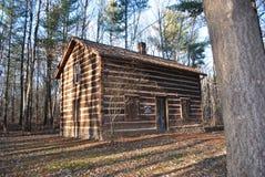 Stara czas beli kabina Zdjęcie Stock