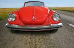 Stary czerwony samochód Obraz Stock