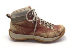 stara but czerwień Zdjęcie Stock
