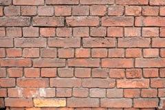 Stara czerwona ściana z cegieł tła tekstura zdjęcie stock