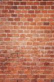 Stara czerwona ściana z cegieł tła tekstura Zdjęcia Royalty Free
