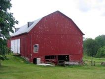 stara czerwona stodoła Fotografia Stock