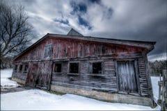 stara czerwona stodoła Zdjęcie Royalty Free