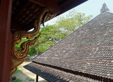 stara dachowa płytka Obrazy Royalty Free