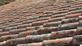 stara dachowa płytka Zdjęcia Stock