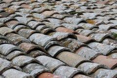 stara dachowa płytka Fotografia Royalty Free