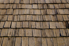Stara dachowa tekstura Fotografia Royalty Free
