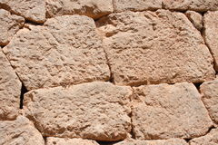 stara Delphi ściana Greece fotografia royalty free