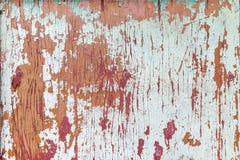 Stara deska z obieranie farbą Obraz Stock