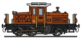 Stara dieslowska lokomotywa Zdjęcia Royalty Free