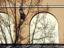 Stara dom ściana, Lithuania Zdjęcia Royalty Free
