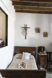 Stara dom wiejski sypialnia Fotografia Stock