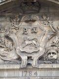 Stara domowa dekoracja w Bayeux, Francja Zdjęcia Royalty Free