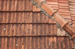 Stara domu dachu tekstura Obrazy Royalty Free