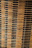 Stara drewna i drutu Lath ściana Zdjęcie Royalty Free
