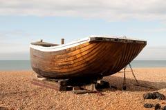 Stara drewniana łódź Zdjęcia Stock