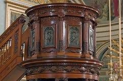 Stara drewniana ambona Obraz Stock