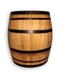 Drewniana baryłka Fotografia Stock
