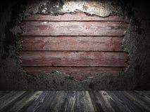 Stara drewniana ściana Zdjęcie Stock