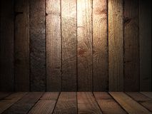Stara drewniana ściana Obrazy Royalty Free