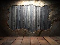 Stara drewniana ściana Obraz Stock