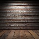 Stara drewniana ściana Fotografia Royalty Free