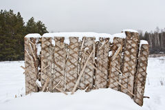 Stara drewniana ściana Zdjęcie Royalty Free